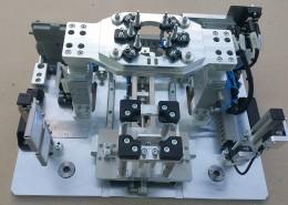 přípravek pro laserové svařování plastů